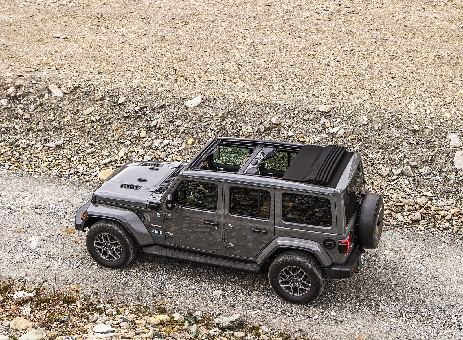 2021 Jeep Wrangler 4xe (Euro-Spec; Plug-In Hybrid) Top Wallpapers (9)