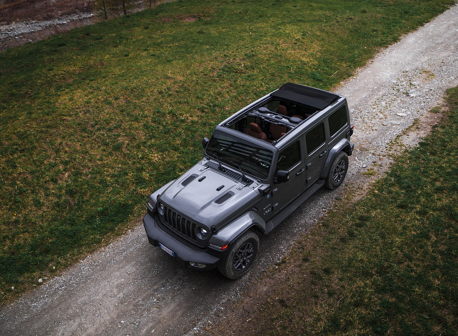 2021 Jeep Wrangler 4xe (Euro-Spec; Plug-In Hybrid) Top Wallpapers (5)
