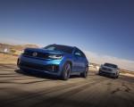 2021 Volkswagen Atlas Cross Sport GT Concept Front Three-Quarter Wallpapers 150x120 (5)