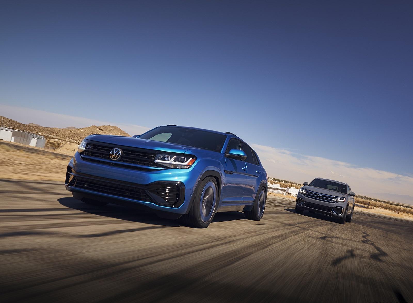 2021 Volkswagen Atlas Cross Sport GT Concept Front Three-Quarter Wallpapers (5)