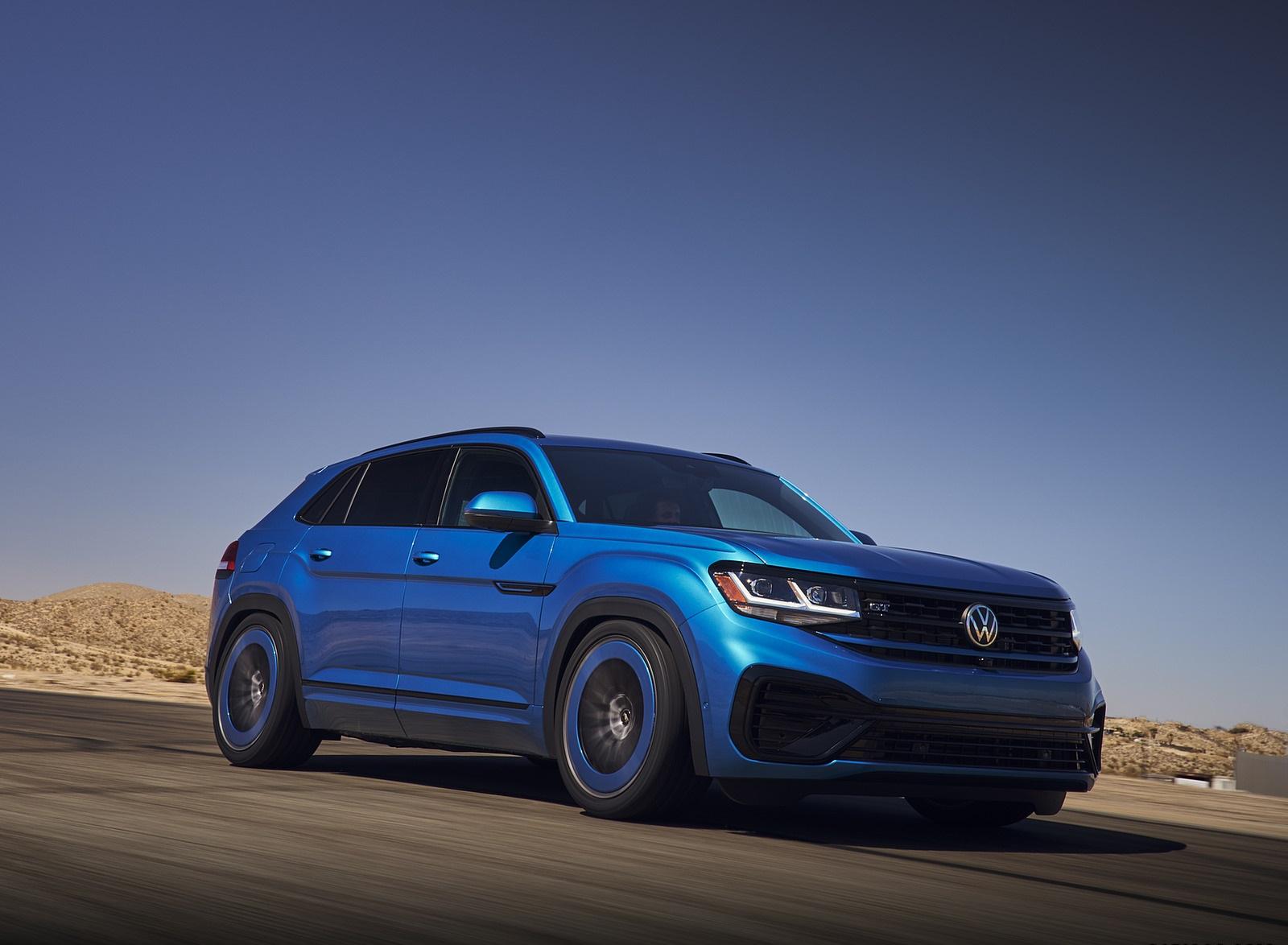 2021 Volkswagen Atlas Cross Sport GT Concept Front Three-Quarter Wallpapers (3)