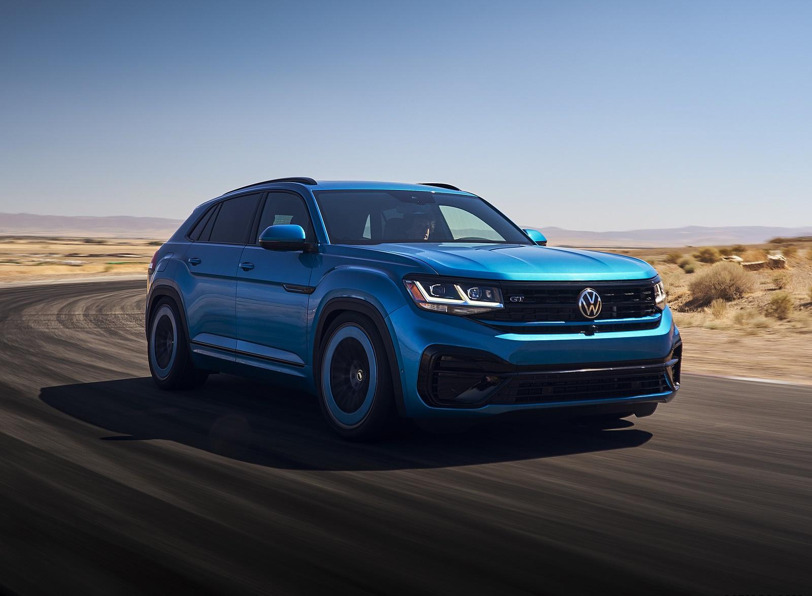 2021 Volkswagen Atlas Cross Sport GT Concept Front Three-Quarter Wallpapers (1)