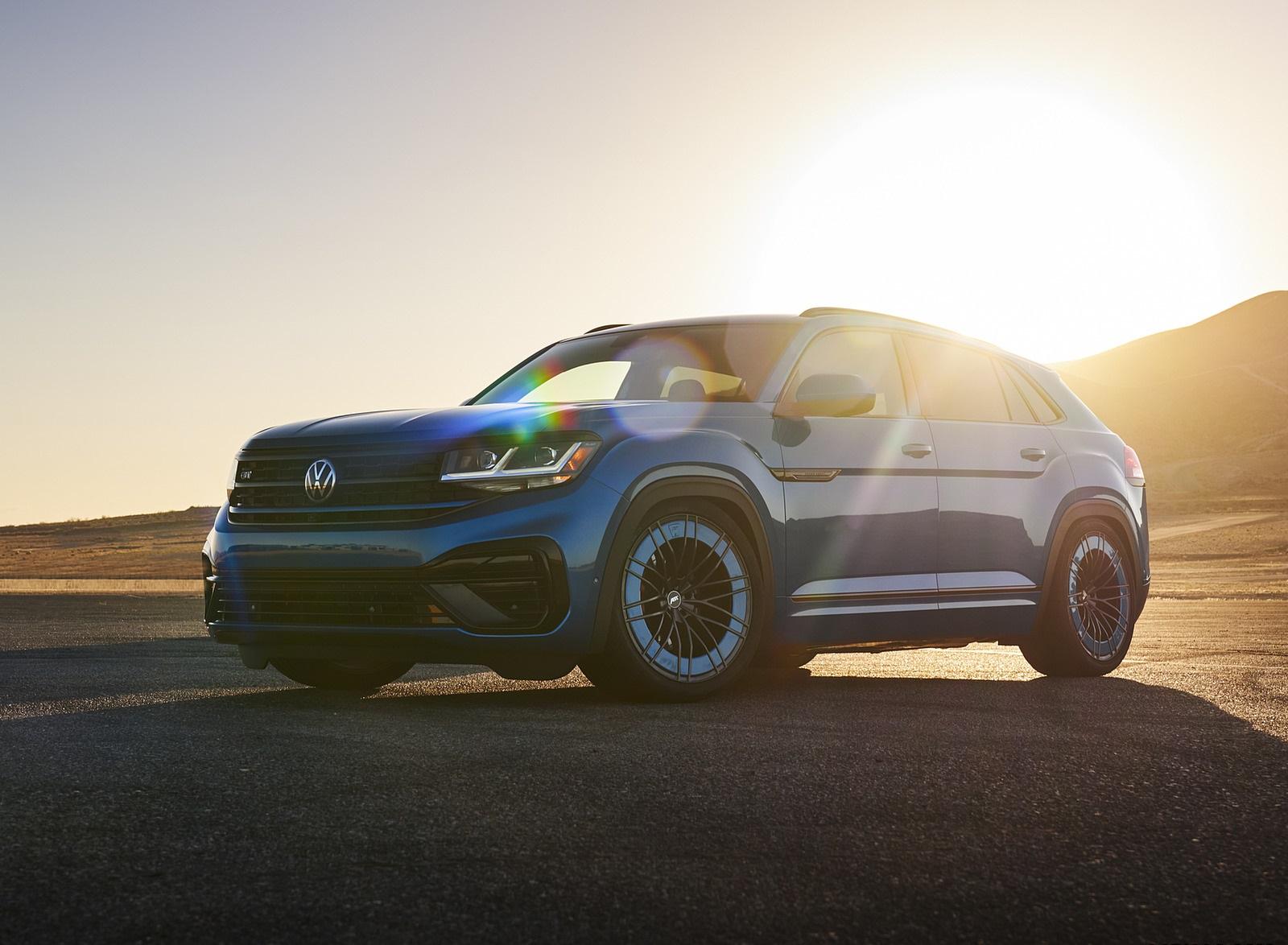 2021 Volkswagen Atlas Cross Sport GT Concept Front Three-Quarter Wallpapers (7)