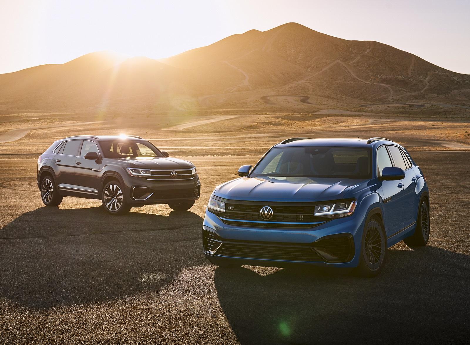 2021 Volkswagen Atlas Cross Sport GT Concept Front Wallpapers (8)
