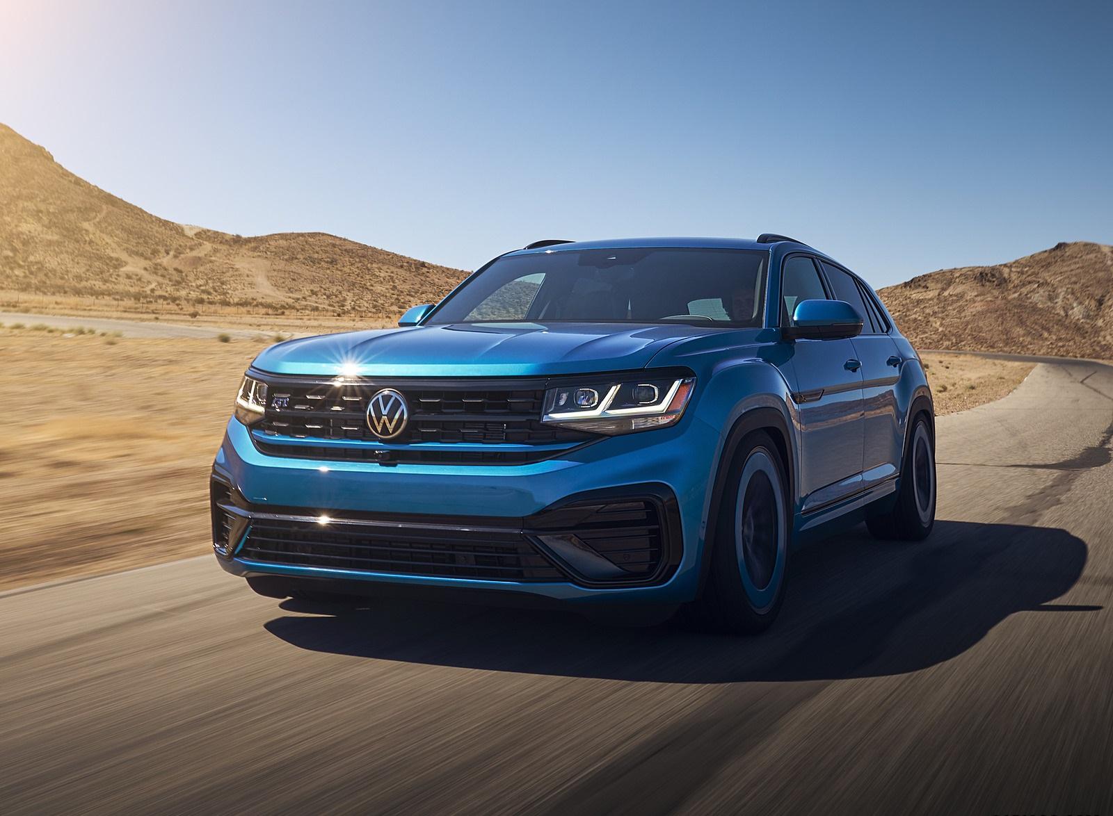 2021 Volkswagen Atlas Cross Sport GT Concept Front Wallpapers (4)
