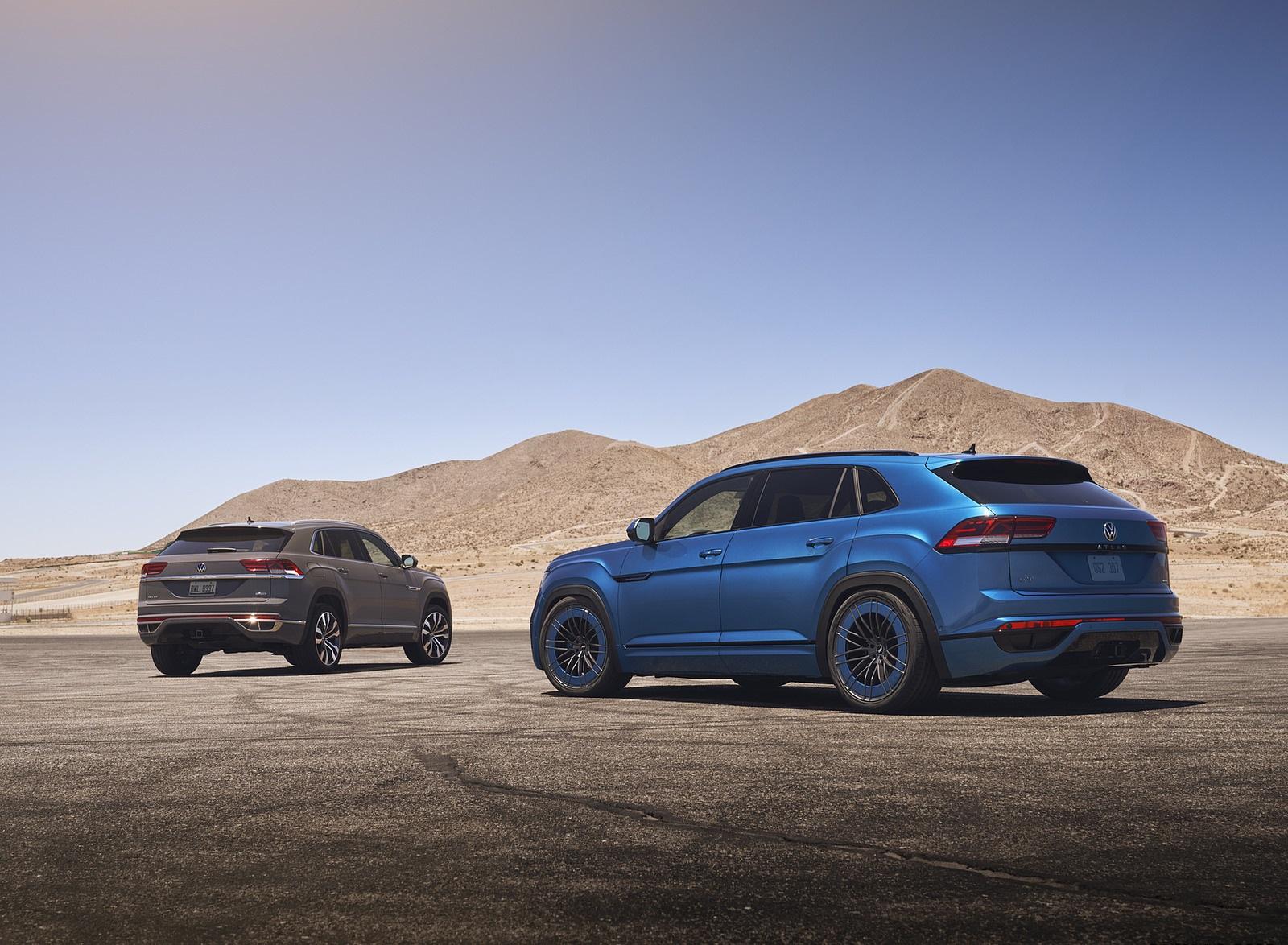 2021 Volkswagen Atlas Cross Sport GT Concept Rear Three-Quarter Wallpapers (9)