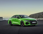 2022 Audi RS3 Sedan (Color: Kyalami Green) Front Three-Quarter Wallpapers 150x120 (26)