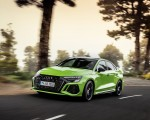 2022 Audi RS3 Sedan (Color: Kyalami Green) Front Three-Quarter Wallpapers 150x120 (3)