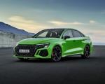 2022 Audi RS3 Sedan (Color: Kyalami Green) Front Three-Quarter Wallpapers 150x120 (27)