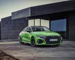 2022 Audi RS3 Sedan (Color: Kyalami Green) Front Three-Quarter Wallpapers 150x120 (18)