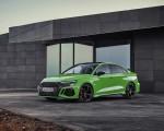 2022 Audi RS3 Sedan (Color: Kyalami Green) Front Three-Quarter Wallpapers 150x120 (19)