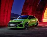2022 Audi RS3 Sedan (Color: Kyalami Green) Front Three-Quarter Wallpapers 150x120 (44)