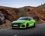 2022 Audi RS3 Sedan (Color: Kyalami Green) Front Three-Quarter Wallpapers 150x120 (13)