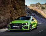 2022 Audi RS3 Sedan (Color: Kyalami Green) Front Wallpapers 150x120 (8)