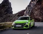 2022 Audi RS3 Sedan (Color: Kyalami Green) Front Wallpapers 150x120 (10)