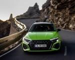 2022 Audi RS3 Sedan (Color: Kyalami Green) Front Wallpapers 150x120 (11)