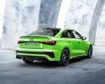 2022 Audi RS3 Sedan (Color: Kyalami Green) Rear Three-Quarter Wallpapers 150x120 (39)