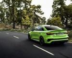 2022 Audi RS3 Sedan (Color: Kyalami Green) Rear Three-Quarter Wallpapers 150x120 (4)