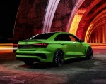 2022 Audi RS3 Sedan (Color: Kyalami Green) Rear Three-Quarter Wallpapers 150x120 (45)