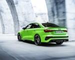 2022 Audi RS3 Sedan (Color: Kyalami Green) Rear Three-Quarter Wallpapers 150x120 (40)