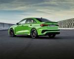 2022 Audi RS3 Sedan (Color: Kyalami Green) Rear Three-Quarter Wallpapers 150x120 (32)