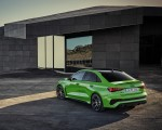 2022 Audi RS3 Sedan (Color: Kyalami Green) Rear Three-Quarter Wallpapers 150x120 (22)