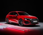 2022 Audi RS3 Sportback (Color: Tango Red) Front Three-Quarter Wallpapers 150x120 (39)