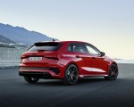 2022 Audi RS3 Sportback (Color: Tango Red) Rear Three-Quarter Wallpapers 150x120 (29)