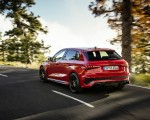 2022 Audi RS3 Sportback (Color: Tango Red) Rear Three-Quarter Wallpapers 150x120 (2)
