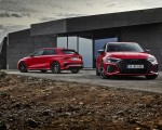 2022 Audi RS3 Sportback (Color: Tango Red) and RS 3 Sedan Wallpapers 150x120 (13)