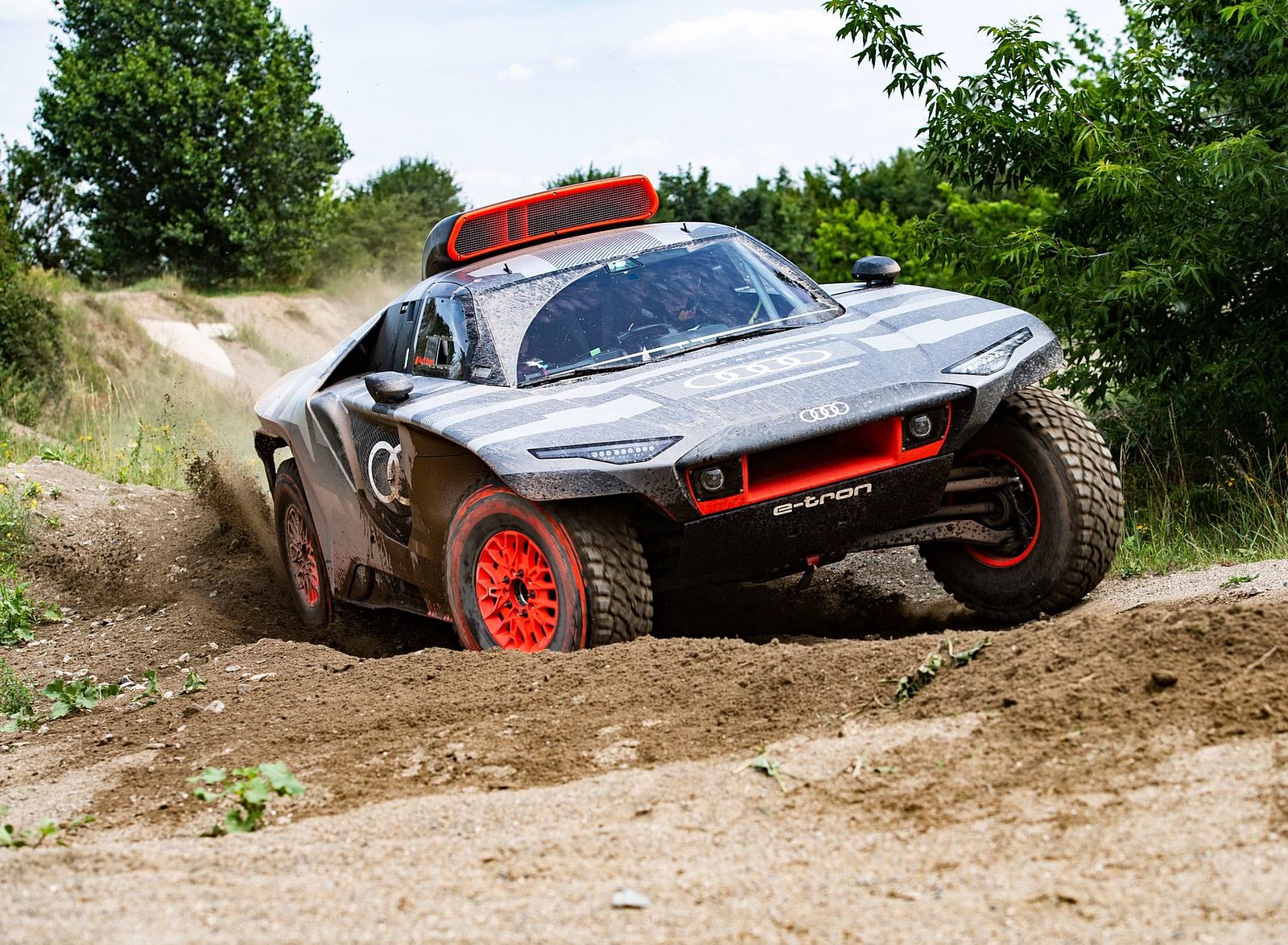 2022 Audi RS Q e-tron Dakar Rally Off-Road Wallpapers (4)