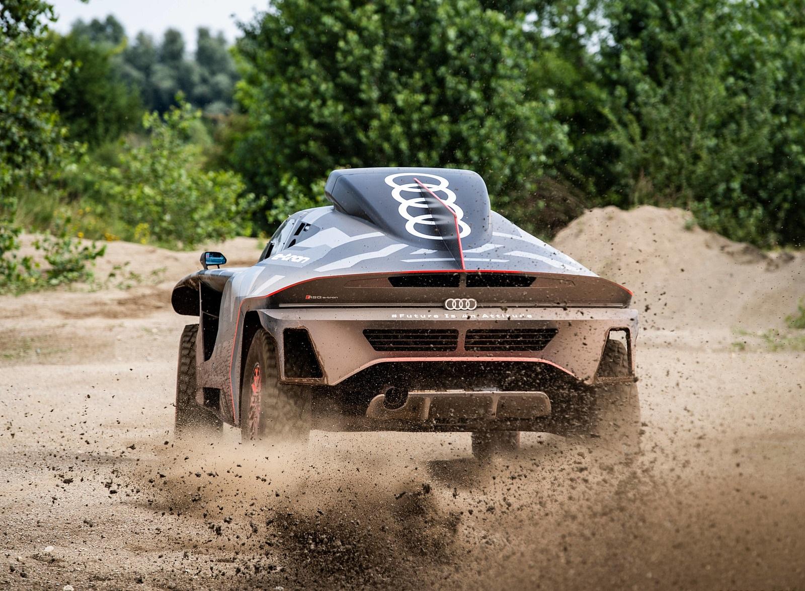 2022 Audi RS Q e-tron Dakar Rally Off-Road Wallpapers (3)
