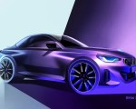 2022 BMW 2 Series Coupe Design Sketch Wallpapers 150x120 (45)