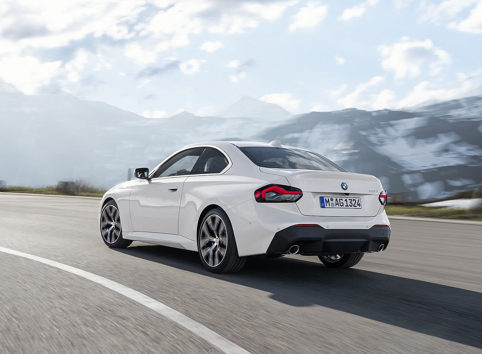 2022 BMW 2 Series Coupe Rear Three-Quarter Wallpapers (4)