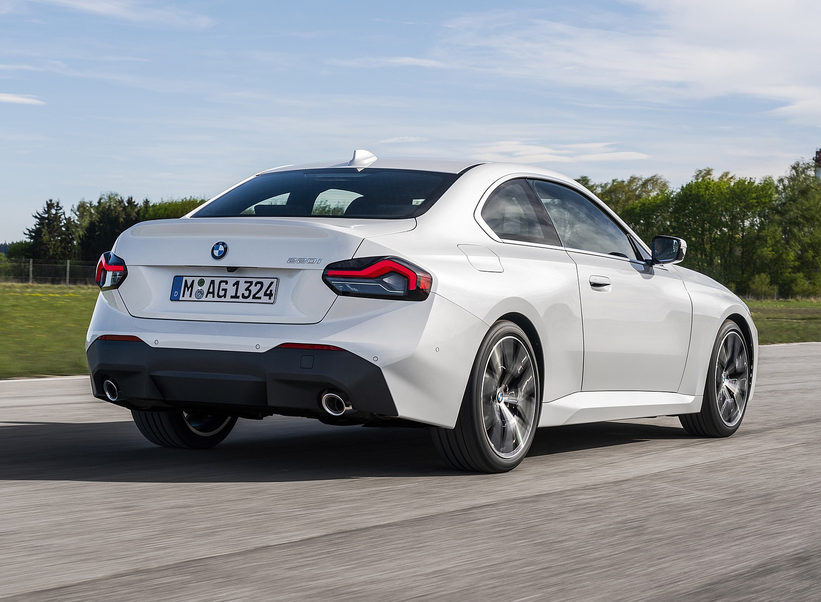 2022 BMW 2 Series Coupe Rear Three-Quarter Wallpapers (7)