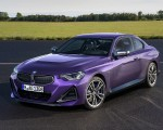 2022 BMW M240i xDrive Coupe Front Three-Quarter Wallpapers 150x120 (19)