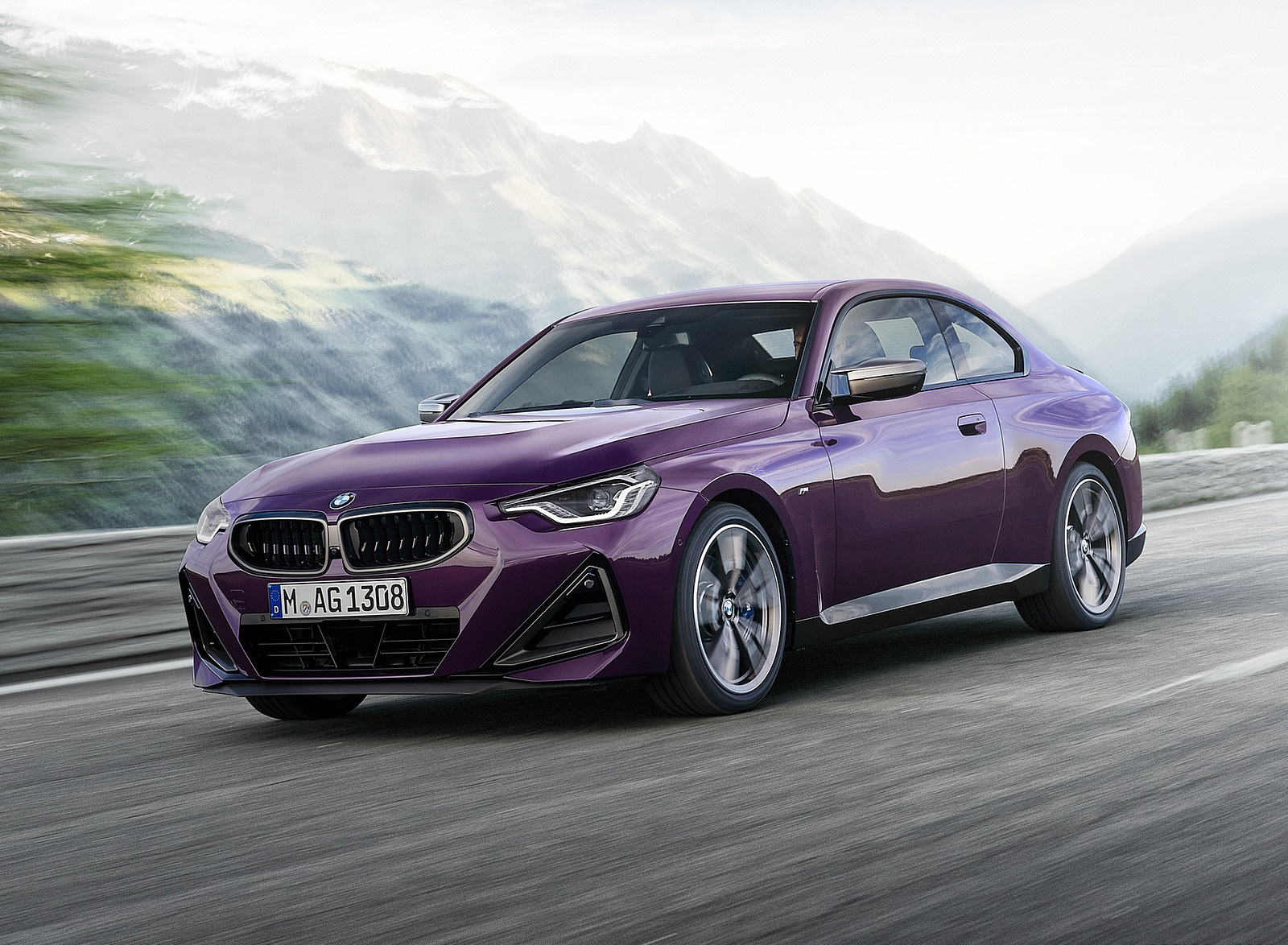 2022 BMW M240i xDrive Coupe Front Three-Quarter Wallpapers (1)