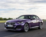 2022 BMW M240i xDrive Coupe Front Three-Quarter Wallpapers 150x120 (22)