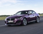 2022 BMW M240i xDrive Coupe Front Three-Quarter Wallpapers 150x120 (4)
