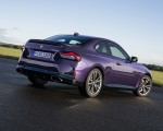 2022 BMW M240i xDrive Coupe Rear Three-Quarter Wallpapers 150x120 (24)