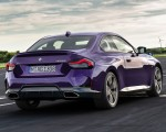 2022 BMW M240i xDrive Coupe Rear Three-Quarter Wallpapers 150x120 (9)