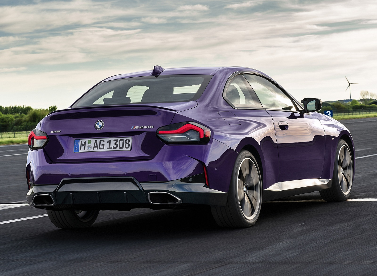2022 BMW M240i xDrive Coupe Rear Three-Quarter Wallpapers (9)