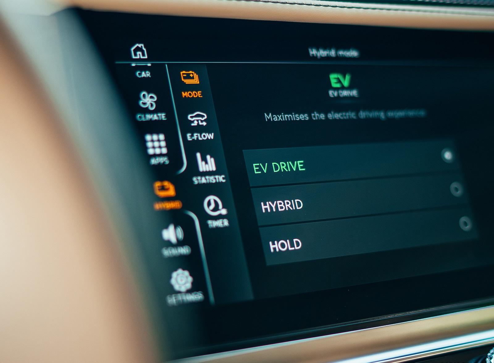 2022 Bentley Flying Spur Hybrid Interior Detail Wallpapers (10)