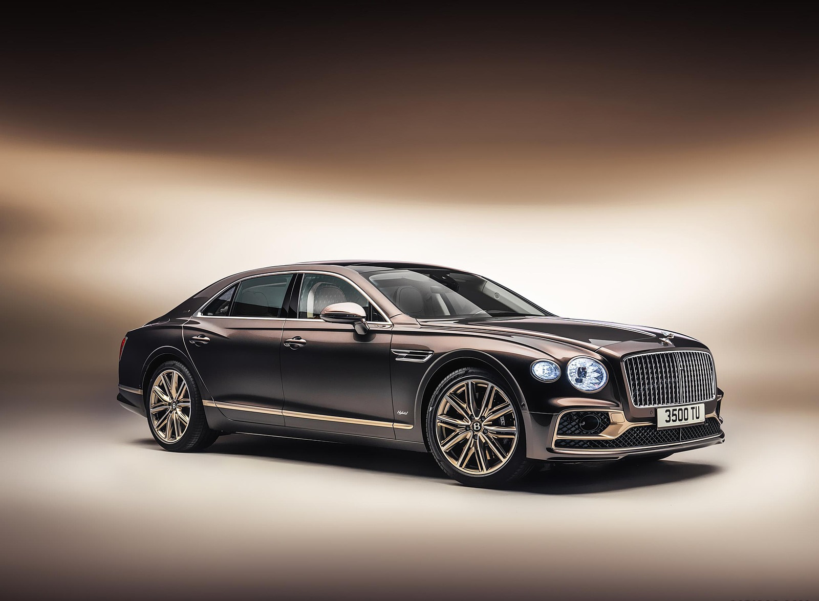 2022 Bentley Flying Spur Hybrid Odyssean Edition Front Three-Quarter Wallpapers (1)