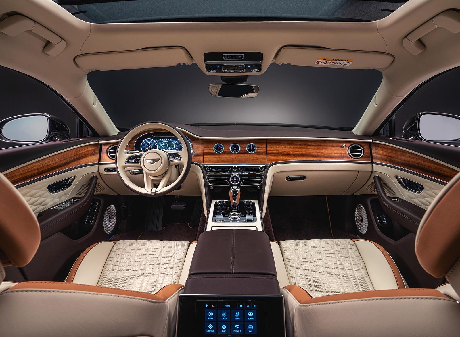 2022 Bentley Flying Spur Hybrid Odyssean Edition Interior Cockpit Wallpapers (7)
