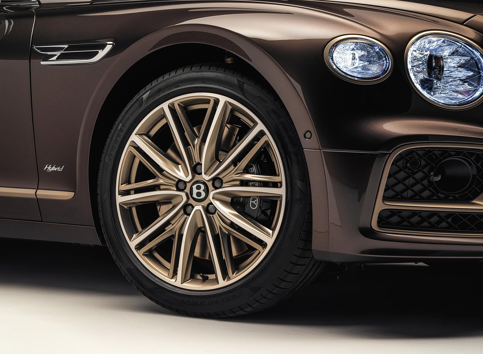 2022 Bentley Flying Spur Hybrid Odyssean Edition Wheel Wallpapers (4)