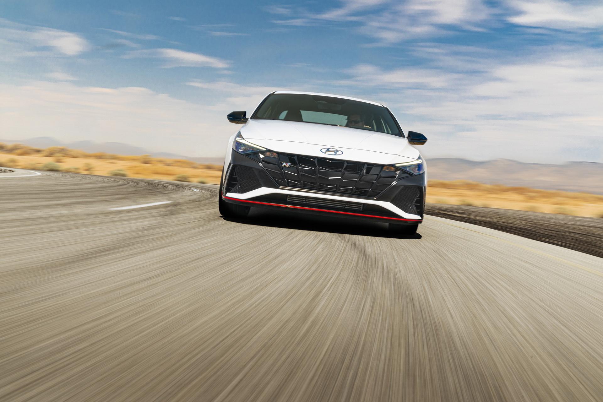 2022 Hyundai Elantra N Front Wallpapers (5)