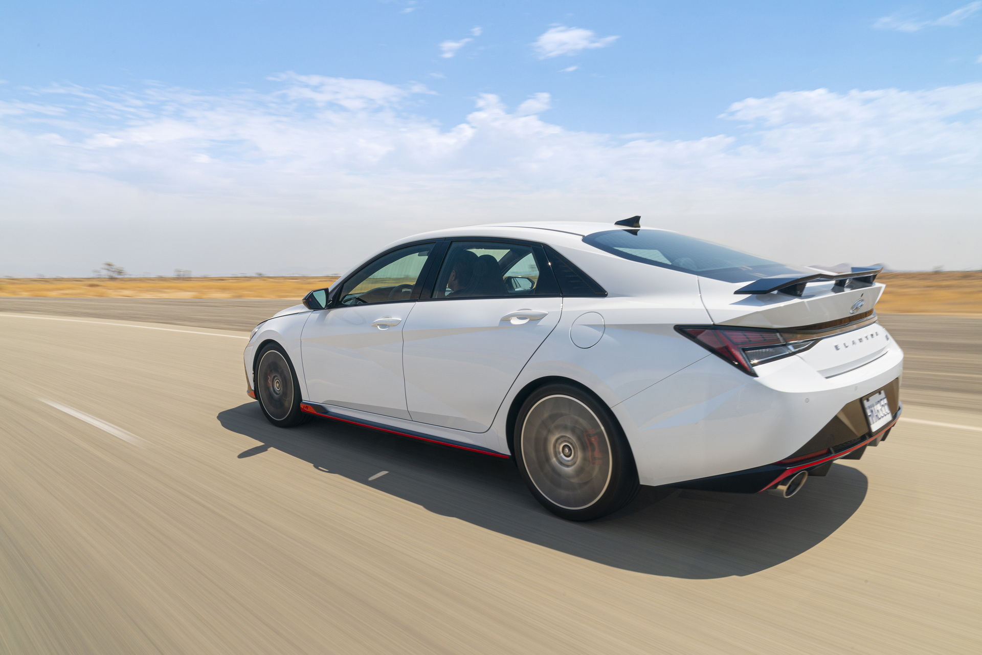 2022 Hyundai Elantra N Rear Three-Quarter Wallpapers (9)