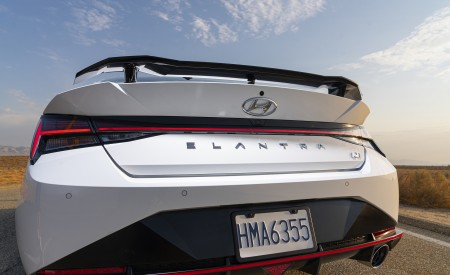 2022 Hyundai Elantra N Rear Wallpapers 450x275 (39)