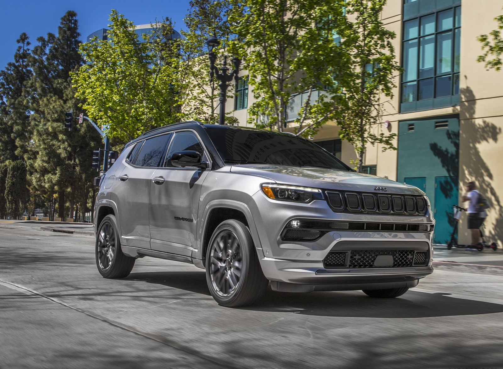 2022 Jeep Compass High Altitude Front Three-Quarter Wallpapers (9)